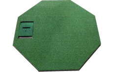 OptiShot Indoor Golf Simulator Octagonal Mat